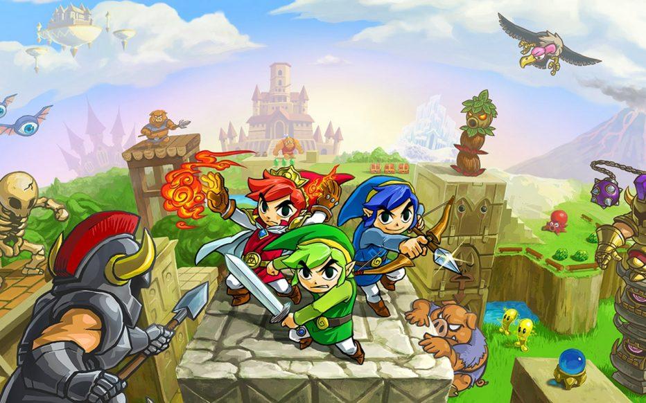The Legend of Zelda: Tri Force